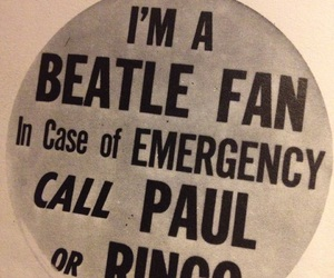 beatles, Paul McCartney, and ringo starr image
