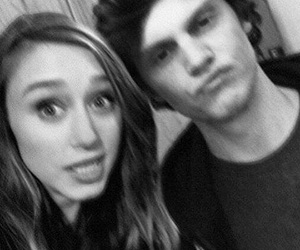 evan peters, american horror story, and ‎taissa farmiga image
