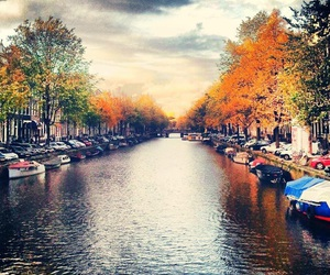amsterdam, bauty, and boats image