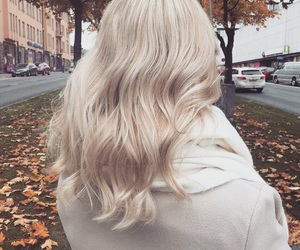 autumn, blonde, and hair image
