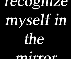 confused, detached, and mirror image