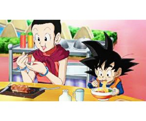 anime, milk, and dragon ball z image