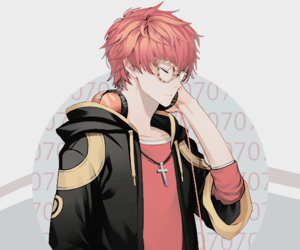 mystic messenger, seven, and game image