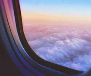 travel, clouds, and pink image
