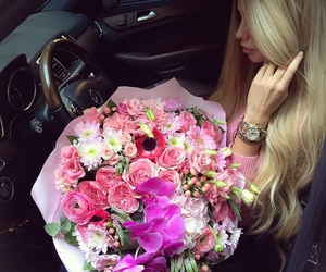 luxury, girly, and hair image