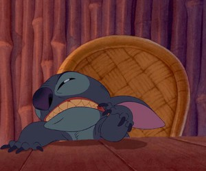 disney, gif, and stich image