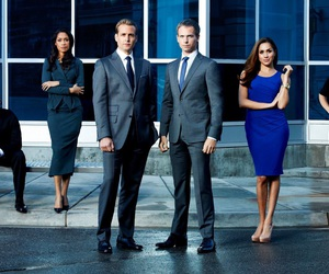 suits, donna, and harvey image