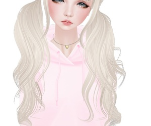 imvu, kawaii, and overwrought image