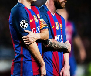Barca, messi, and CL image
