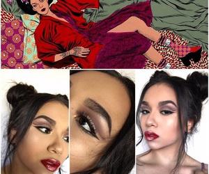 art, looks, and makeup art image