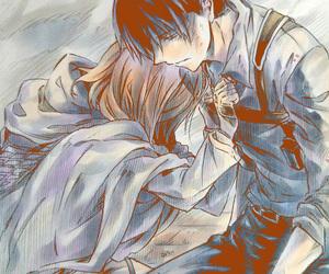 anime, shingeki no kyojin, and levi image