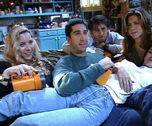 friends, Lisa Kudrow, and David Schwimmer image