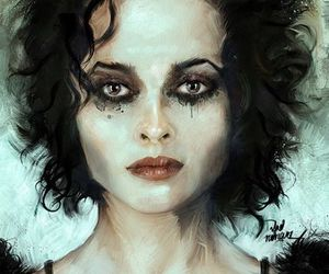 helena bonham carter, art, and fight club image