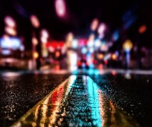 light, night, and street image