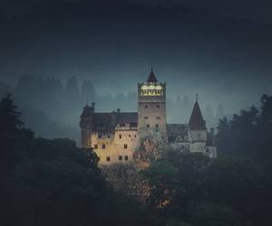 castle, romania, and Dracula image