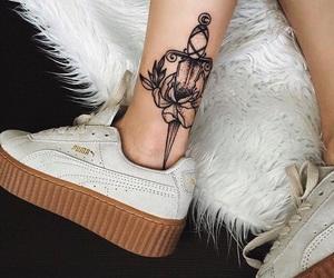 shoes, fashion, and puma image