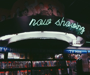 dvd, neon signs, and records image