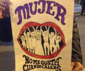 draw, feminism, and mujer image