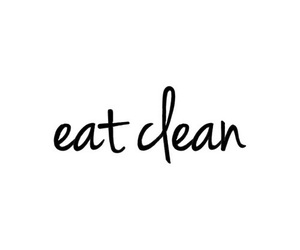 clean, eat, and healthy image