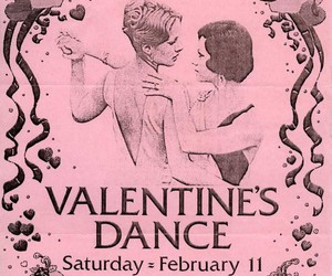 dance, pink, and Valentine's Day image