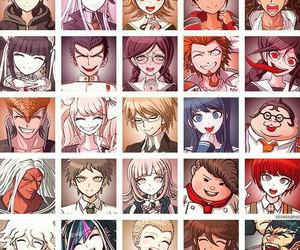 anime and dangaronpa image