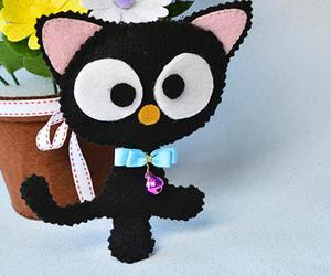 craft for kids, easy felt crafts, and cute felt cat for kids image