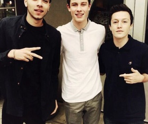 shawn mendes, kalin and myles, and myles parrish image