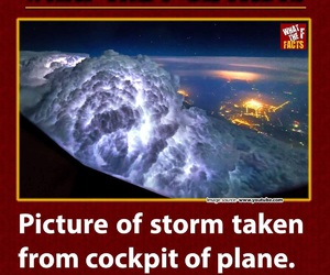 fact, plane, and storm image