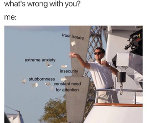 funny, anxiety, and meme image