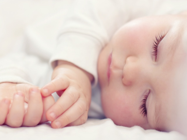 baby and sleep image