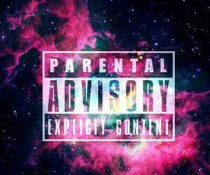 galaxy, wallpaper, and parental advisory image