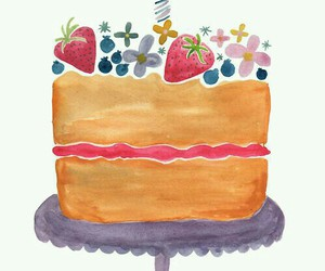 bakery, birthday, and blueberries image