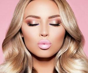 makeup, beautiful, and fashion image