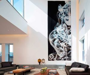 home, interior, and art image