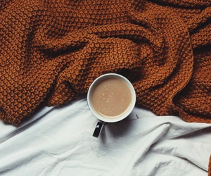 fall, coffee, and autumn image