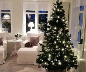 christmas, design, and interior image
