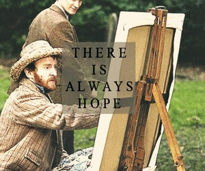doctor who, hope, and van gogh image