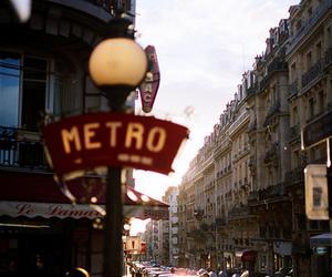 city, beautiful, and metro image