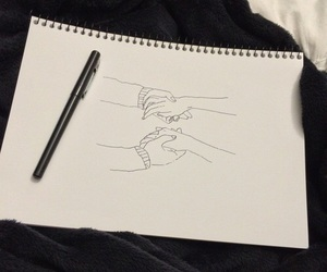 breakup, drawing, and tumblr image