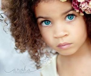 baby, beautiful, and eyes image