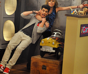 zayn malik, one direction, and icarly image