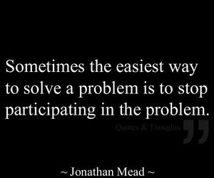 quotes, problem, and life image