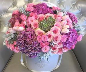 bouquet, flowers, and rose image
