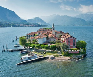italy, Lake Maggiore, and places image