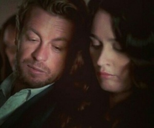 couple, simon baker, and the mentalist image