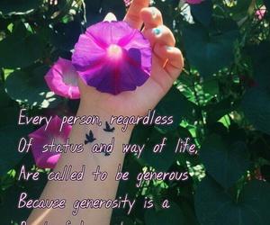 flower, human, and life image