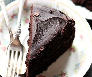 chocolate, food, and pretty image