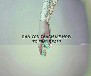 aesthetic, hand, and Lyrics image
