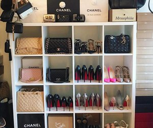 shoes, bag, and luxury image