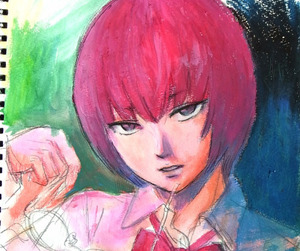 manga, aku no hana, and sawa nakamura image